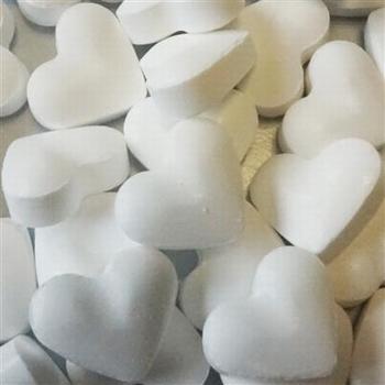 Lollywood Colors Dextrose Witte Hartjes 1kg