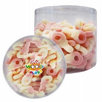 Lollywood Colors Zure Tutters Roze Wit 1kg