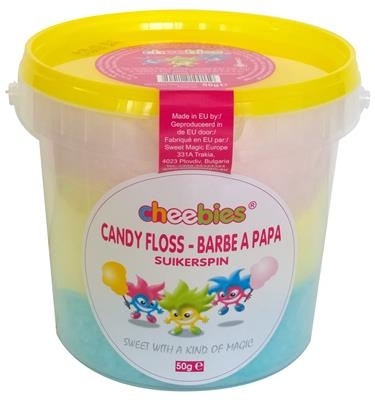 Suikerspin Candy Floss 50 gram