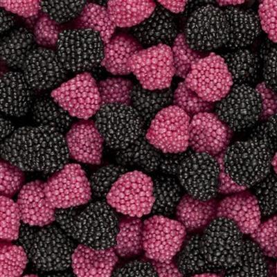 Berries Zwart/Rood Haribo 1kg