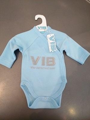 Romper Very Important Baby blauw