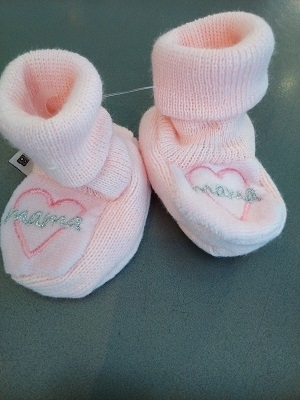 Slofjes mama roze