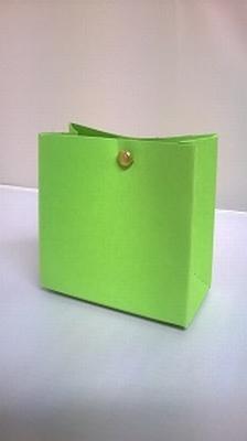 Breed tasje malmero bambou groen - € 0,80 /stuk - vanaf 10st