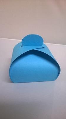 Bonbondoosje fel blauw malmero arctique - €0,80/st vanaf10st