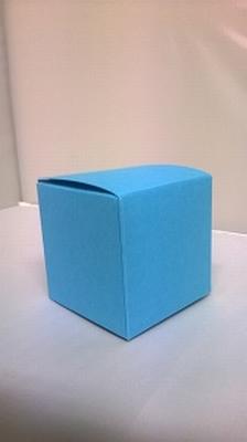Kubus fel blauw malmero arctique - € 0,80 /stuk - vanaf 10st
