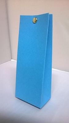 Laag tasje fel blauw malmero arctique - €0,80/stuk vanaf10st