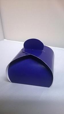 Bonbondoosje fel dark blue - € 0,80 /stuk - vanaf 10 stuks