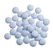 Mini smarties confetti blauw gelakt 1 kg