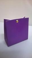 Breed tasje violet - € 0,80 /stuk - vanaf 10 stuks
