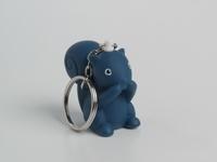 Betty Nachtblauw sleutelhanger