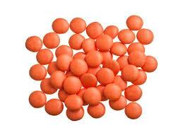 Smarties confetti oranje 1 kg