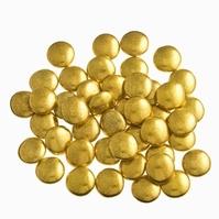 Smarties confetti goud metal 1 kg