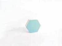 Naturalplus 6-hoekig doosje klein mint (12 stuks)