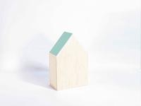 Naturalplus huisje medium mint