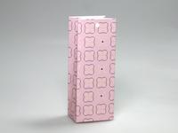 Pom roze laag tasje