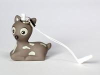 Bambi Suzi warm grey smartphone deco