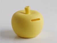 Pom soft yellow spaarpot medium (2 stuks)