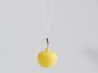 Pom soft yellow sleutelhanger mini (24 stuks)