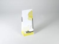 Cesar Fox wit laag tasje met klepje (24 stuks)