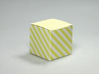 Pom soft yellow kubus (24 stuks)