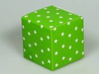 Sterretjes limoen kubus