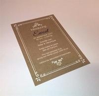 Geboortekaart Postkaart 105 x 150 mm met uw ontwerp