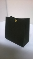 Breed tasje zwart - € 0,80 /stuk - vanaf 10 stuks