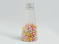 Pet flesje piramide 120 ml (24 stuks)