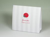 Pim Pam rood Janneke geboortekaart