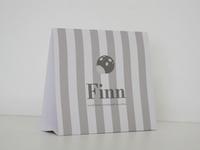Pim Pam taupe Finn geboortekaart