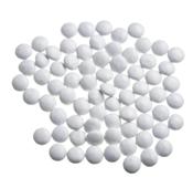 Mini smarties confetti wit gelakt 1 kg