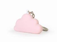 Dreams roze sleutelhanger 5,5 cm (12 stuks)