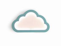Cloudy munt led mood light 43x26 cm