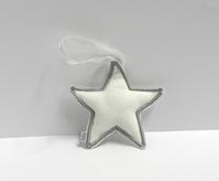 Vilt ster wit (10 stuks)