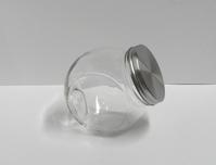 Snoepbokaal zilver deksel medium - enkel afhalen