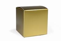 Kubus super blinkend goud (24 stuks)