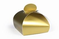 Bonbondoosje super blinkend goud (24 stuks)