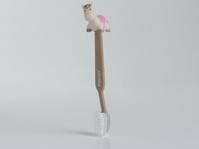 Paard roos tandenborstel (24 stuks)