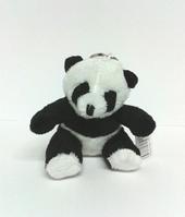 Pandabeer sleutelhanger pluche