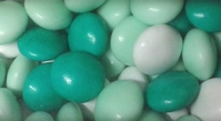 Mini smarties confetti mix groen 1 kg