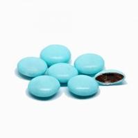 Confetti Smarties Licht Blauw Gelakt 1 kg