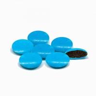 Confetti Smarties Turkoois Gelakt 1 kg