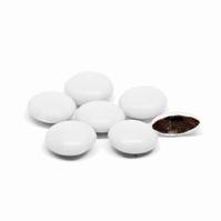 Confetti Smarties Wit Gelakt 1 kg