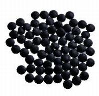 Mini Confetti Smarties Zwart Gelakt 1 kg