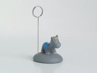 Paard blauw fotoclip