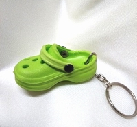 Mini Crocs fel groen