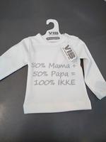T-shirt 100% ikke wit