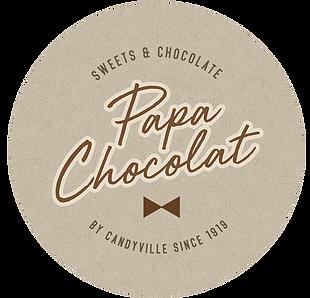 Suikerbonen Papa Chocolat